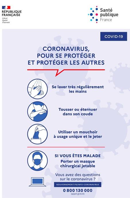 Appel à la fermeture de toutes les mosquées de France à compter de dimanche 15 mars et jusqu'à nouvel ordre